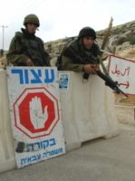 israel idf at checkpoint in ramallah 224x300 Beckmann in the West Bank with Arafat