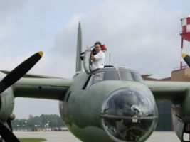 maraudertaxi 300x225 History Channel Goes Back In Time With B26 Marauder and F 86 Airplanes