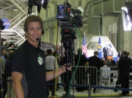 April 2010 012 600x450 Orlando Crew covers President Obamas visit to Kennedy Space Center