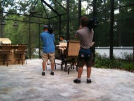 photo 4 300x225 Orlando Crew films dreams coming true in Jacksonville, Florida with HGTV