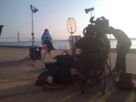 KEF SMT charleston 300x225 Charleston and Richmond Crews on Satellite Media Tour