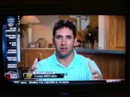 DSC04744 300x225 Modisett Crew Goes Live with Elliott Sadler for ESPN After Hardest Crash in NASCAR History