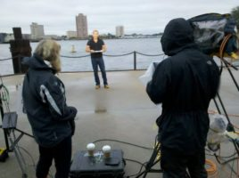 sam champion norfolk 600x448 Baker Crew Tracks Tropical Storm Nicole For ABC News
