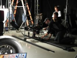 SAM 1378 300x225 Seven Years Makes It a Tradition... The Hanger Shoot in Daytona for NASCAR on FOX.