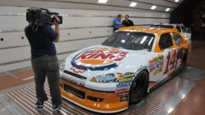 IMG 1455 600x336 Nashville Crew Works with NASCAR on TNT in a Wind Tunnel