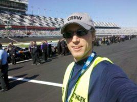 NASCAR1 300x224 LAs Clark Crew Wraps Its EIGHTH Year on NASCAR!