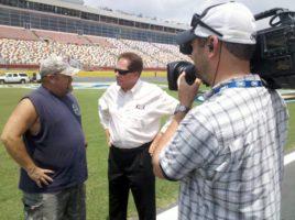 NASCAR4 600x448 LAs Clark Crew Wraps Its EIGHTH Year on NASCAR!
