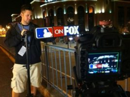 Busch Stadium MLB Sign 600x447 Dallas and St Louis for the World Series... For Fox Sports