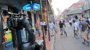 IMG 1078 300x168 LA Crew Works To Keep The Bourbon Off Bourbon Street for NFL Pre Game Show!