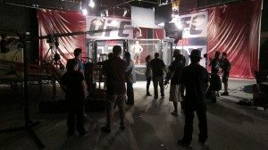 IMG 1117 300x168 LA Crew Steps Into The Ring For Fox And The UFC