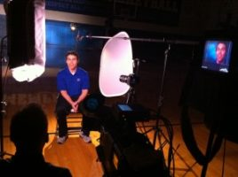 IMG 11081 300x224 Nashville Crew Shoots Feature on University of Memphis Forward, D.J. Stephens