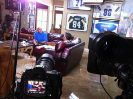 IMG 1469 300x224 Nashville Crew Shoots with The Golf Channel's David Feherty