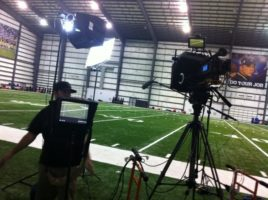 IMG 2260 600x448 Nashville Crew Shoots NFL PSA With Saints Wide Receiver, Lance Moore
