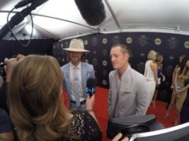 Florida Georgia Line 300x225 Nashville Cameraman at the CMT Artists of the Year Red Carpet with E!