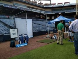 Golf Channel 1 300x225 Atlanta Crew Works with Mizuno and the Braves for the Golf Channel