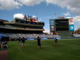 Golf Channel 3 300x225 Atlanta Crew Works with Mizuno and the Braves for the Golf Channel