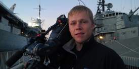 Columbia - Craig Goodale<br> Video Production Cameraman