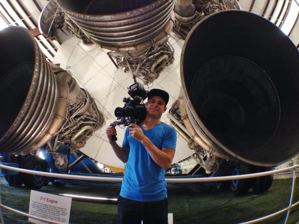 Houston Video Crew Lifts Off At Space Center For ESPN Spelling Bee